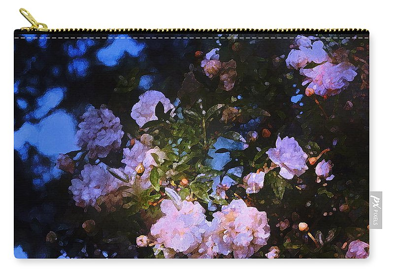 Floral Carry-all Pouch featuring the photograph Rose 222 by Pamela Cooper