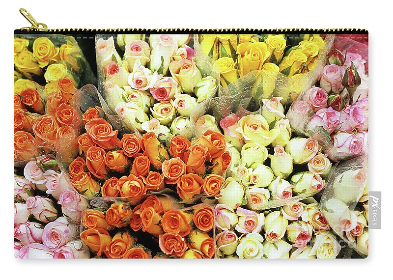 Vietnam Carry-all Pouch featuring the photograph Roses 01 by Rick Piper Photography