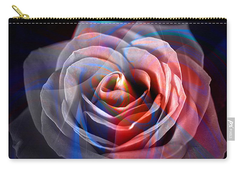 Roses Carry-all Pouch featuring the photograph Rosica 2 by Mark Ashkenazi