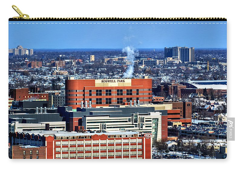 Winter Carry-all Pouch featuring the photograph Roswell Park Winter 2013 by Michael Frank Jr