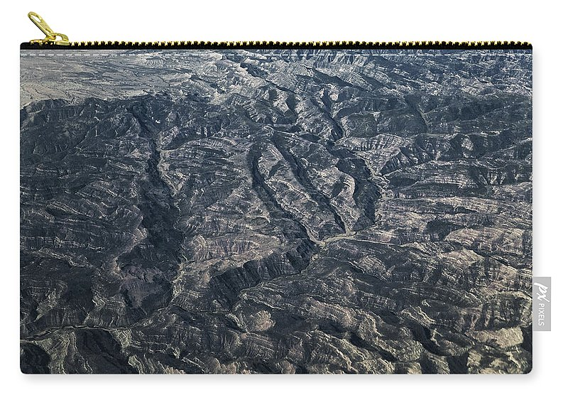 Hills Carry-all Pouch featuring the photograph Rough Country by Rich Franco