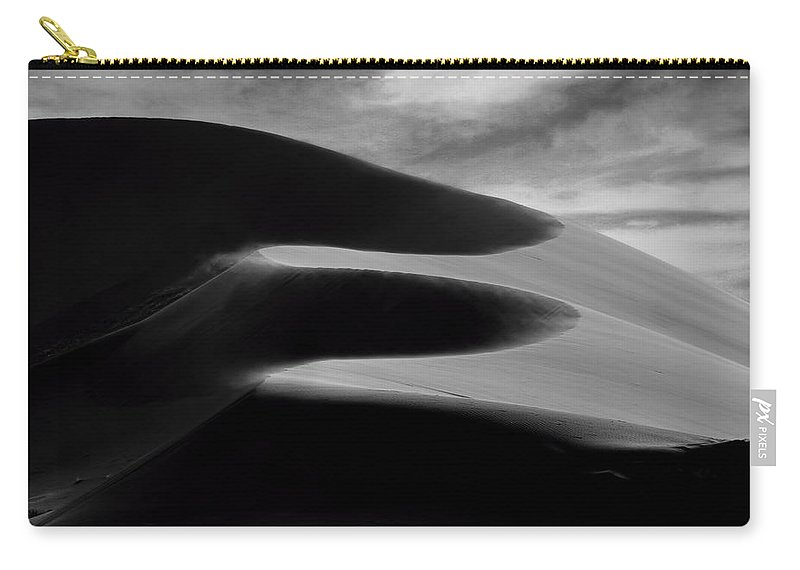 Namibia Carry-all Pouch featuring the photograph Round The Bends by A Rey