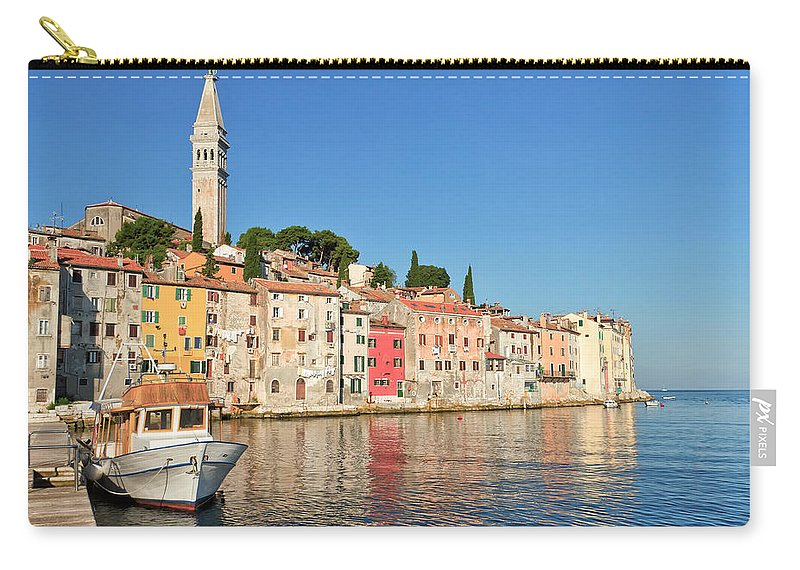 Adriatic Carry-all Pouch featuring the photograph Rovinj2 by Jaroslav Frank