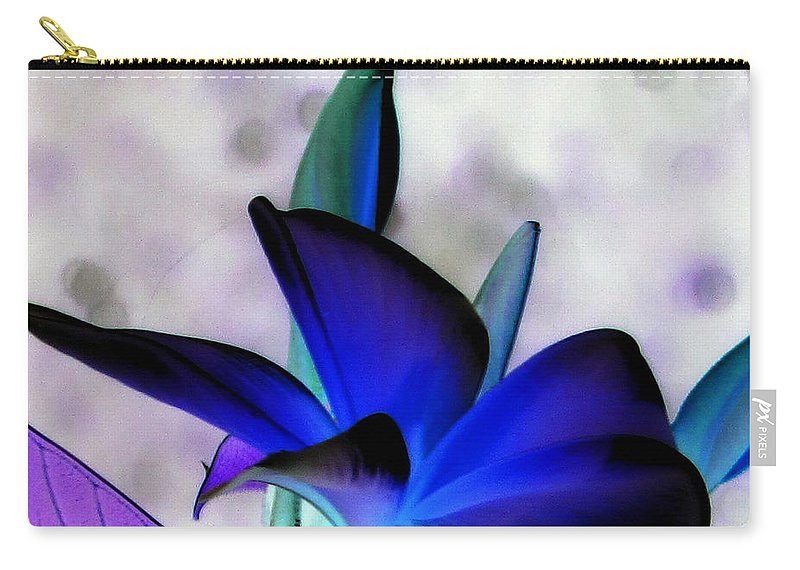 Frangi Pani Carry-all Pouch featuring the photograph Royal Frangi by Debi Singer