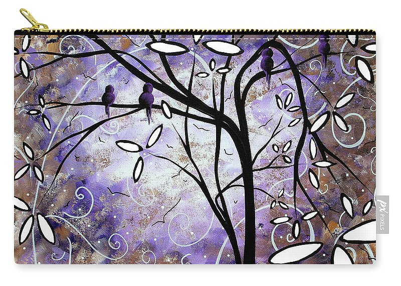Wall Carry-all Pouch featuring the painting Royalty By Madart by Megan Duncanson