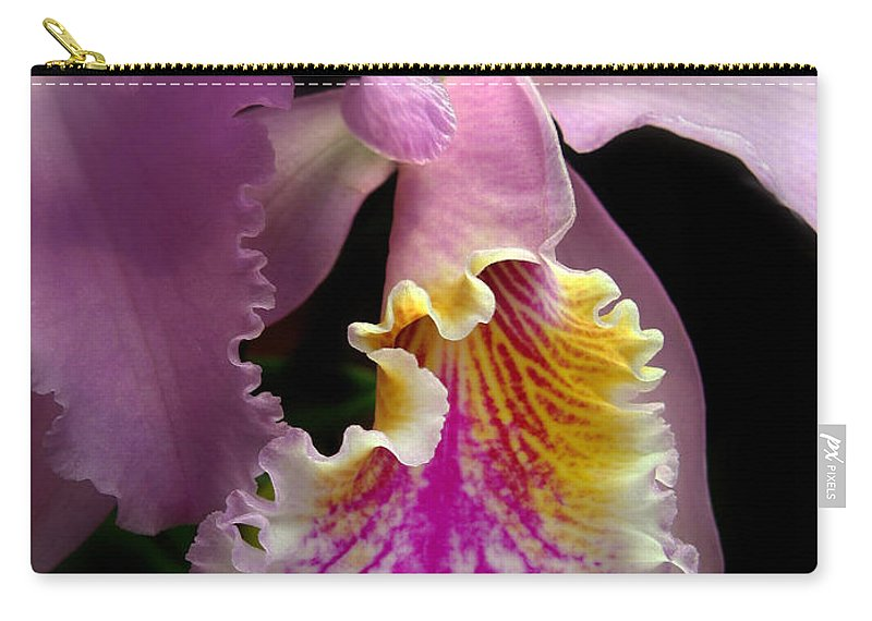 Flowers Carry-all Pouch featuring the photograph Ruffled by Jessica Jenney