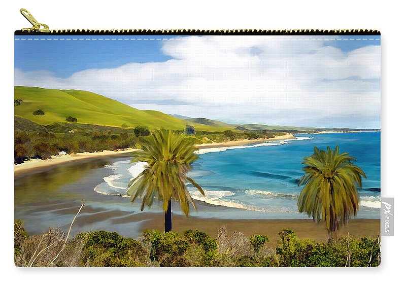Ocean Carry-all Pouch featuring the photograph Rufugio by Kurt Van Wagner