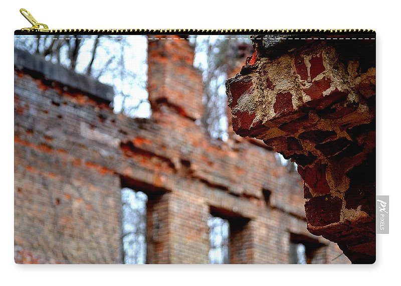 Sweetwater Creek State Park Carry-all Pouch featuring the photograph Ruins Of Sweetwater Manufacturing Company by Tara Potts