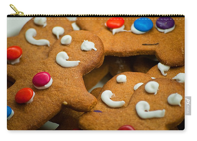 Gingerbread Carry-all Pouch featuring the photograph Run Run As Fast As You Can by Michelle Wrighton