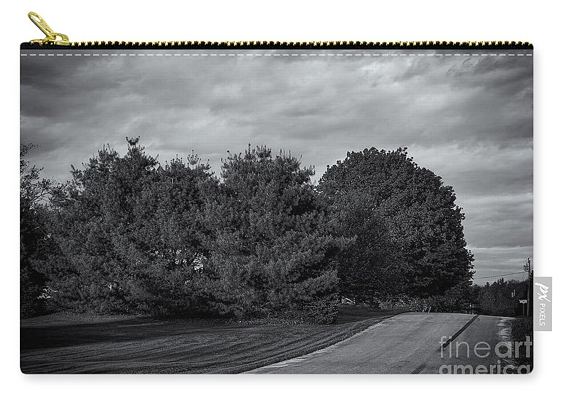 2013 Carry-all Pouch featuring the photograph Rural Road 52 by Mark Myhaver