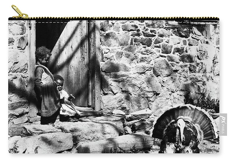1890 Carry-all Pouch featuring the photograph Rural Virginia, C1900 by Granger