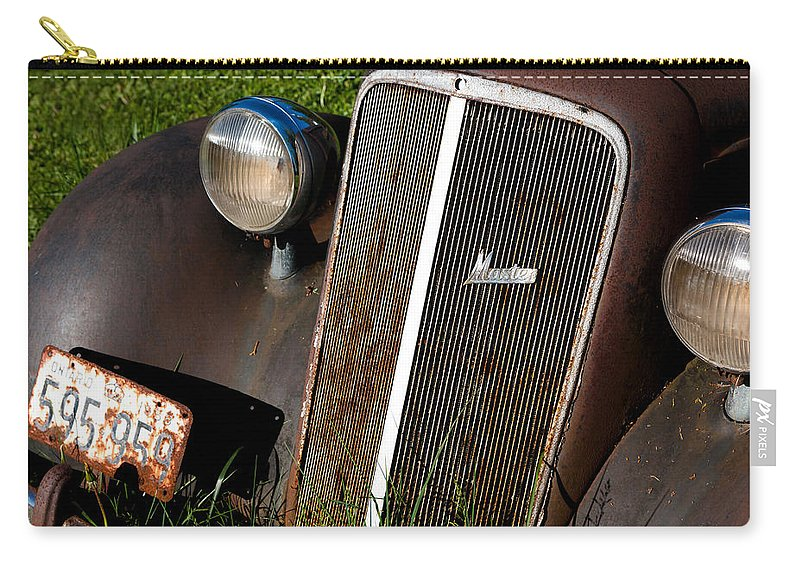 Car Carry-all Pouch featuring the photograph Rusted Master by Cale Best