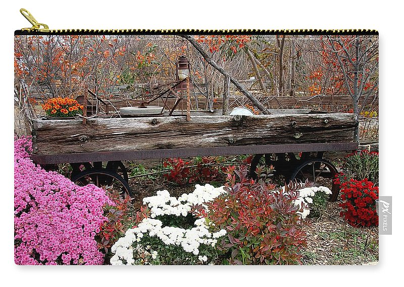 Fall Carry-all Pouch featuring the photograph Rustic Fall by Elizabeth Winter