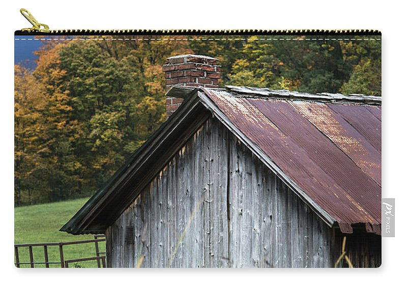 America Carry-all Pouch featuring the photograph Rustic Farm Shed by John Greim