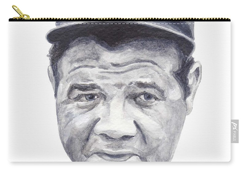 Babe Carry-all Pouch featuring the painting Ruth by Tamir Barkan