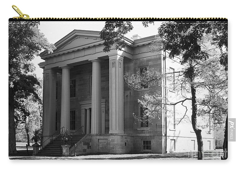 Ruthven Carry-all Pouch featuring the photograph Ruthven Mansion by Barbara McMahon