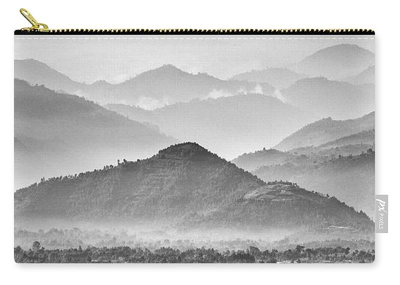 Rwanda Carry-all Pouch featuring the photograph Rwanda Hills by Max Waugh