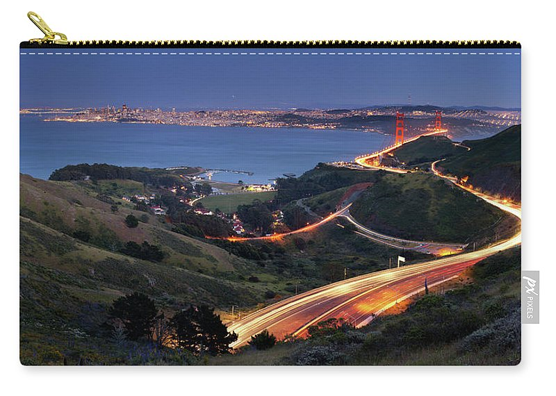Scenics Carry-all Pouch featuring the photograph S Marks The Spot by Vicki Mar Photography