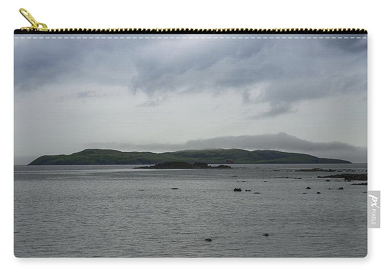 Newfoundland Carry-all Pouch featuring the photograph Sacred Island by David Stone
