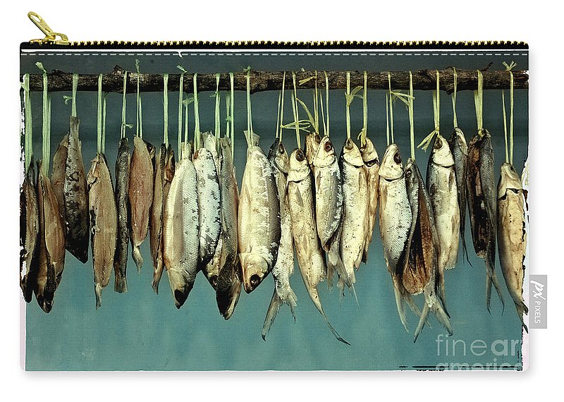 Fish Carry-all Pouch featuring the photograph Sacrifice Of Milkfish by Antoni Halim