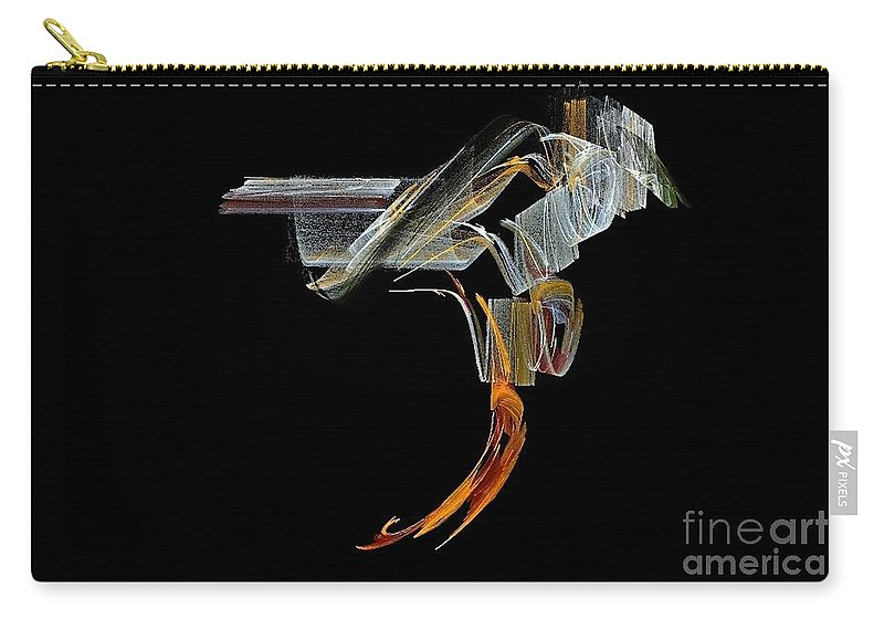 Saddle Carry-all Pouch featuring the digital art Saddled by Sara Raber