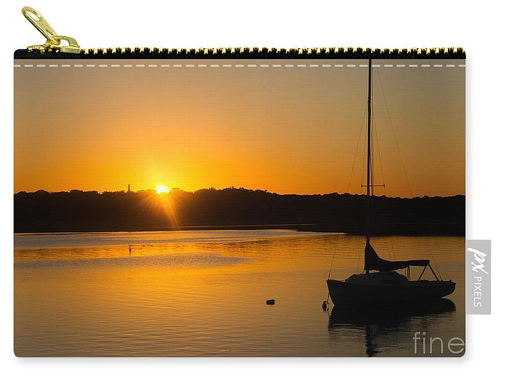 Sailboat Carry-all Pouch featuring the photograph Sail Away by A New Focus Photography