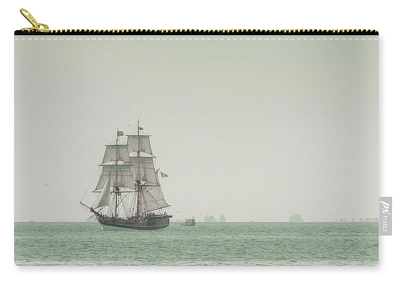 Art Carry-all Pouch featuring the photograph Sail Ship 1 by Lucid Mood