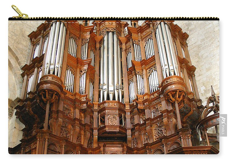 Organ Carry-all Pouch featuring the photograph Saint-bertrand-de-comminges by Jenny Setchell