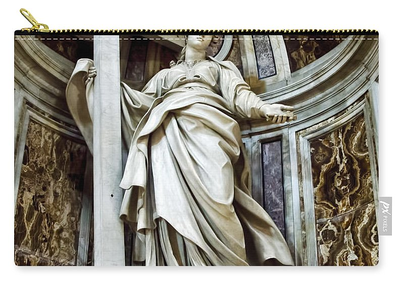 Saint Helena Carry-all Pouch featuring the photograph Saint Helena - St Peters Basilica by Jon Berghoff