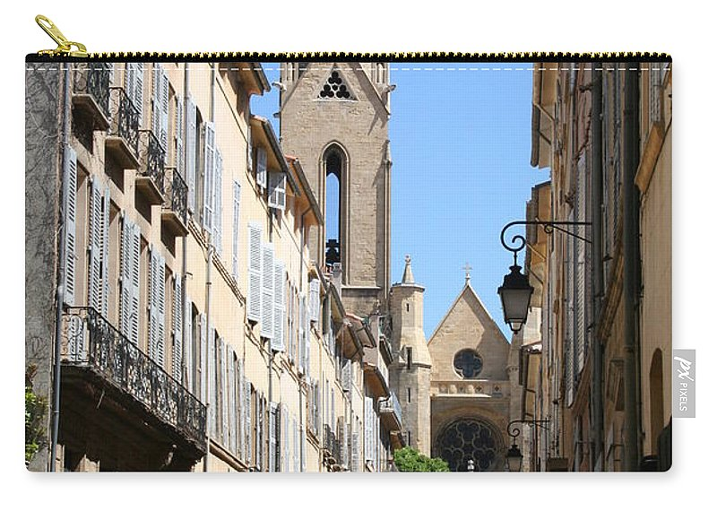 Church Carry-all Pouch featuring the photograph Saint Jean De Malte - Aix En Provence by Christiane Schulze Art And Photography
