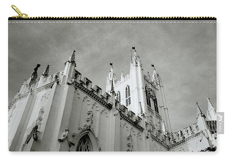 Saint Carry-all Pouch featuring the photograph Saint Paul Cathedral In Cathedral by Shaun Higson