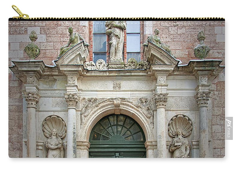 Door Carry-all Pouch featuring the photograph Saint Peters Doorway by Antony McAulay