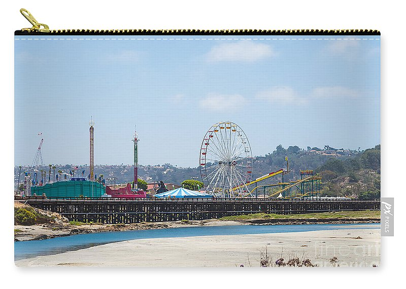 Cindy Tiefenbrunn Carry-all Pouch featuring the photograph San Deigo County Fair by Cindy Tiefenbrunn