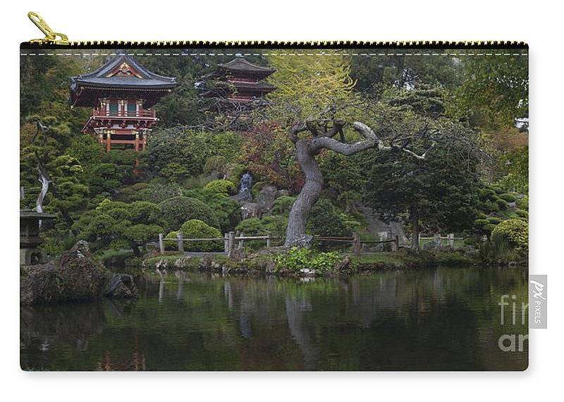 San Francisco Carry-all Pouch featuring the photograph San Francisco Japanese Garden by Mike Reid