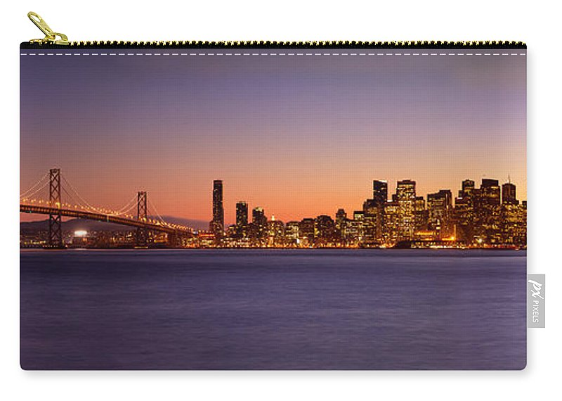 San Francisco Carry-all Pouch featuring the photograph San Francisco Skyline by Brian Jannsen