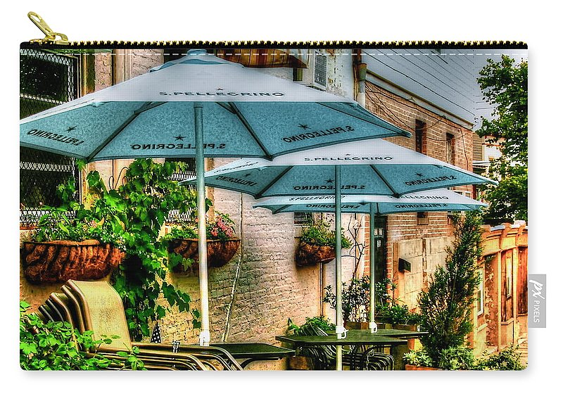 Pellegrino Carry-all Pouch featuring the photograph San Pellegrino by Debbi Granruth