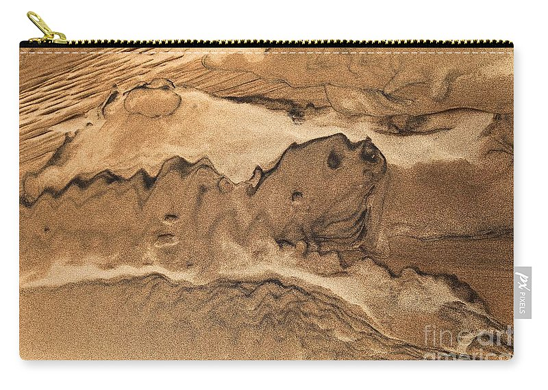 Great Sand Dunes National Parks Carry-all Pouch featuring the photograph Sand Dog by Adam Jewell