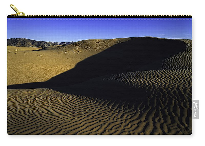 Utah Carry-all Pouch featuring the photograph Sand Ripples by Chad Dutson