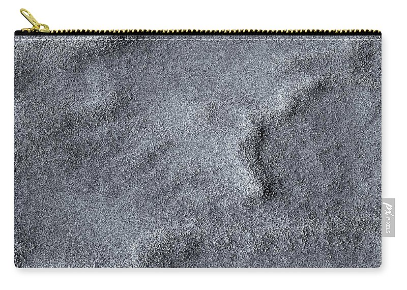Sand Carry-all Pouch featuring the photograph Sand Swirls by Mike Dawson