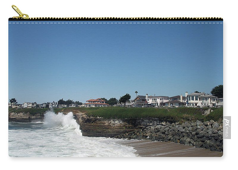 California Carry-all Pouch featuring the photograph Santa Cruz Coast by Christiane Schulze Art And Photography
