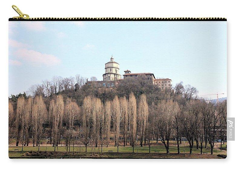 Church Carry-all Pouch featuring the photograph Santa Maria Del Monte Church by Valentino Visentini