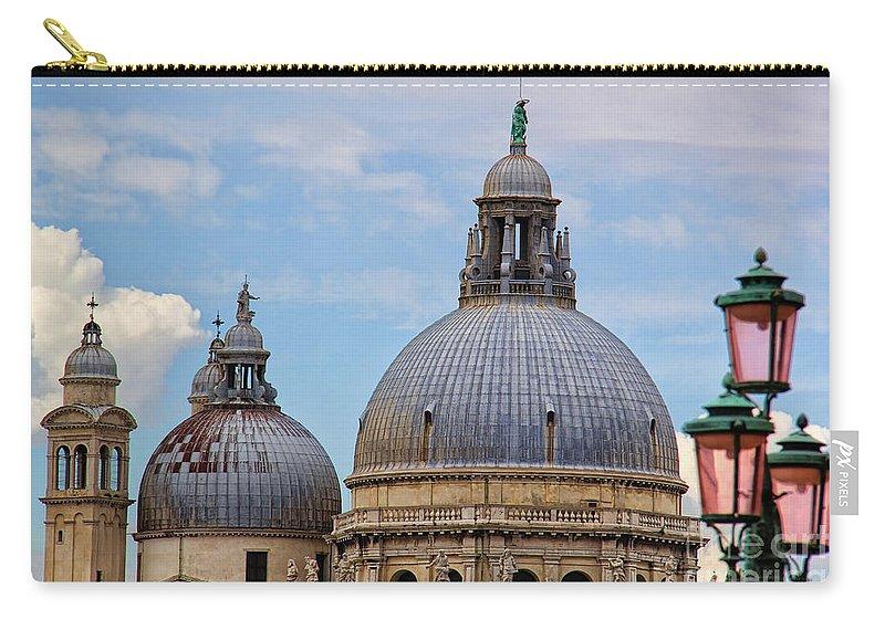Santa Maria Della Salute Carry-all Pouch featuring the photograph Santa Maria Della Salute by Mariola Bitner