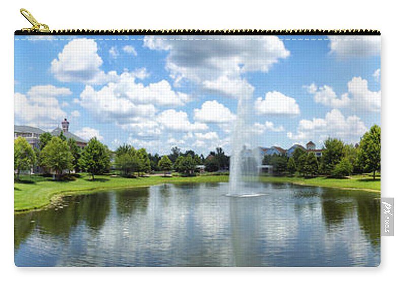 Saratoga Springs Resort Carry-all Pouch featuring the photograph Saratoga Springs Resort Walt Disney World by Thomas Woolworth
