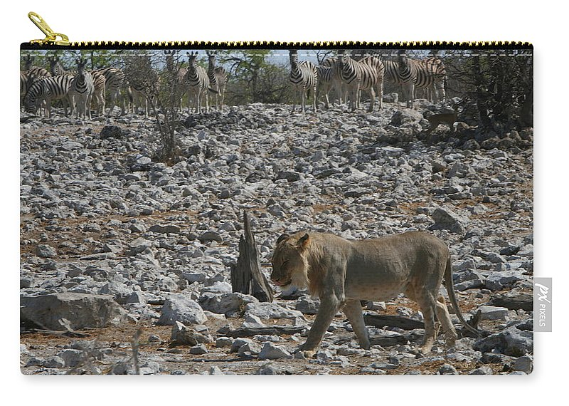 Africa Carry-all Pouch featuring the photograph Satisfied by Bruce J Robinson