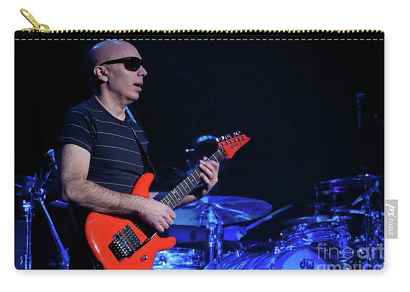 Joe Satriani Carry-all Pouch featuring the photograph Satriani 3368 by Timothy Bischoff