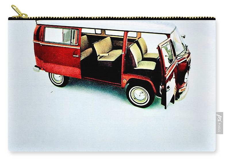 Volkswagen Carry-all Pouch featuring the photograph Say Ah by Benjamin Yeager