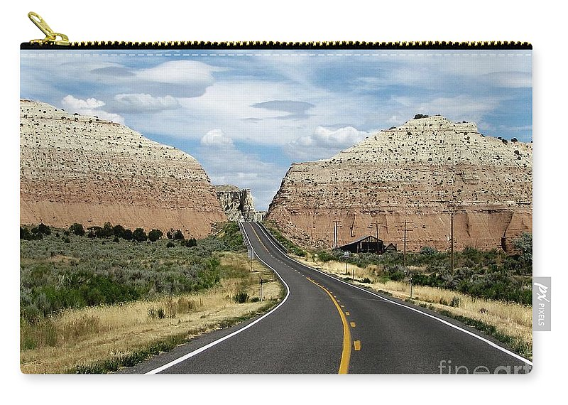 Utah Carry-all Pouch featuring the photograph Utah's Scenic Byway 12 - An All American Road by Sheryl Young