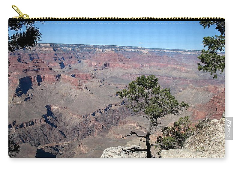 Grand Canyon Carry-all Pouch featuring the photograph Scenic View - Grand Canyon by Christiane Schulze Art And Photography