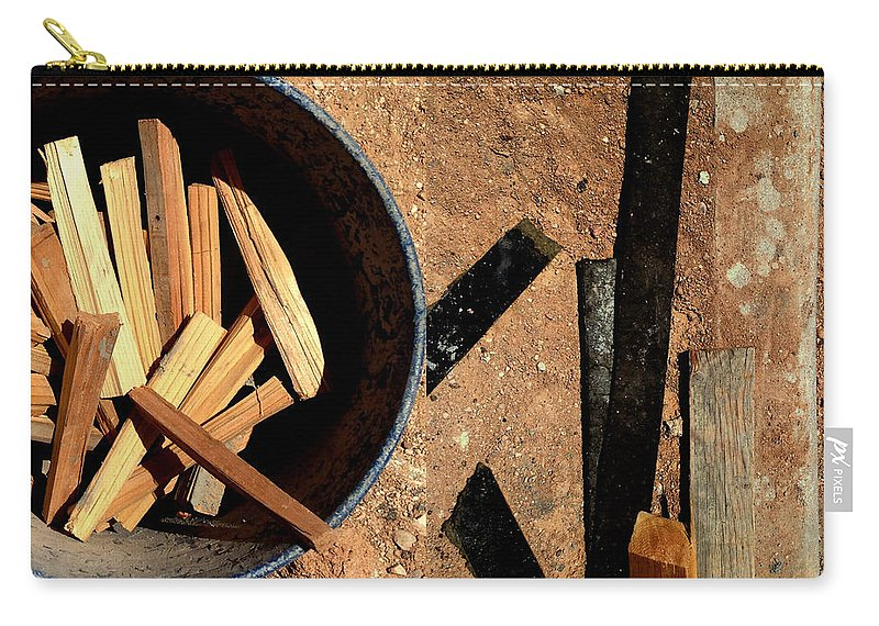 Marlene Burns Carry-all Pouch featuring the photograph Scrappy by Marlene Burns