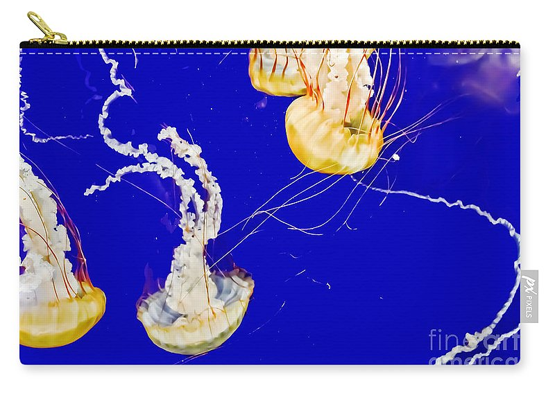 Nature Carry-all Pouch featuring the photograph Sea Nettles by Elvis Vaughn